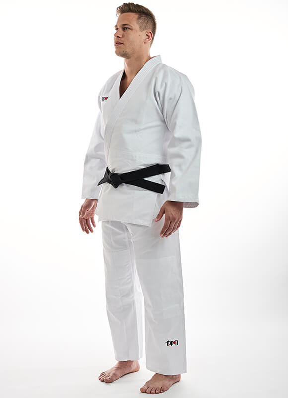 JUDOGI IPPON GEAR BASIC BIANCO
