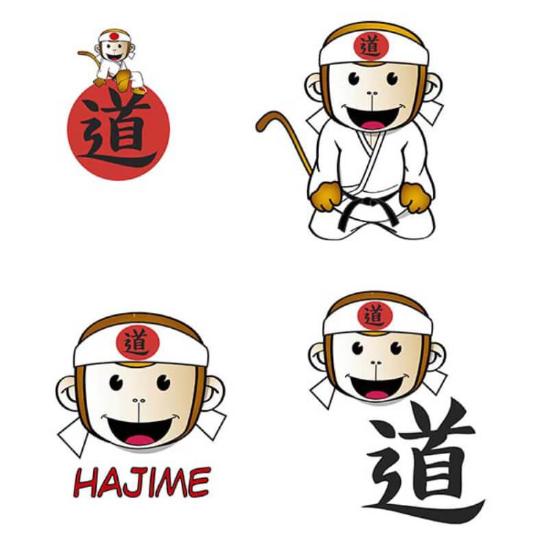 Fighting Films judogi hajime simboli