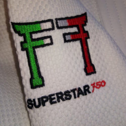 Fighting Films Judogi Superstar 750 Italy Label