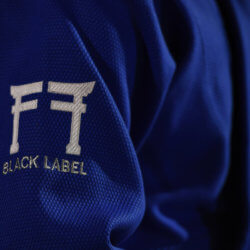 Fighting Films Judogi Black Label Blu logo2