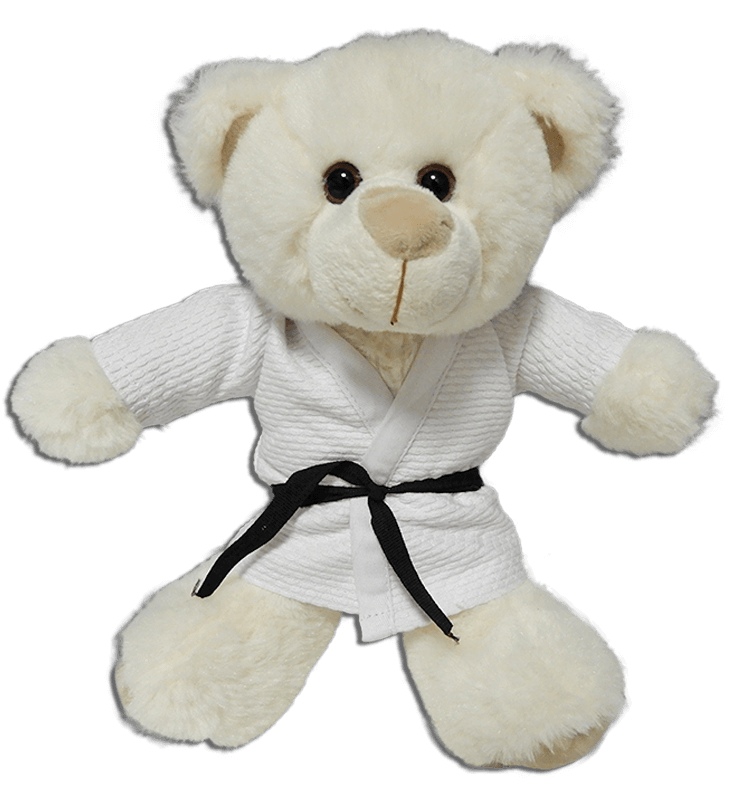 Fight Club Italy Peluches Fighting Bear judogi bianco