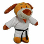 Peluche Fighting Dog