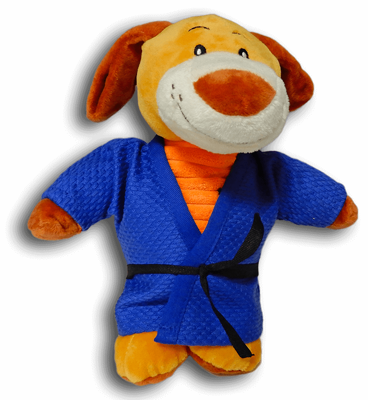 Fight Club Italy Peluches Fighting Dog judogi blu