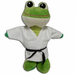 fPeluche Fighting Frog