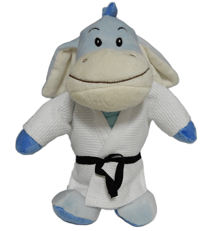 Fight Club Italy Peluches Fighting Hyppo judogi bianco