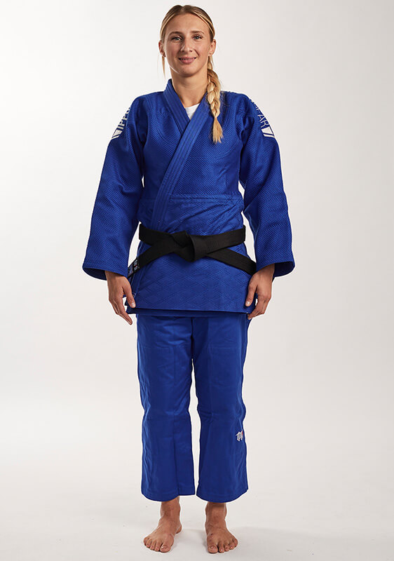 JUDOGI IPPON GEAR LEGEND SLIMFIT BLU