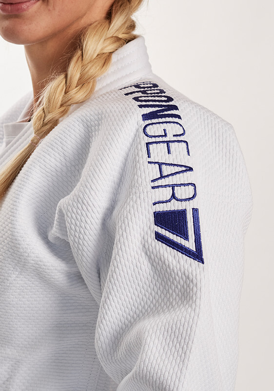 JUDOGI IPPON GEAR FIGHTER LEGENDARY BIANCO SLIM giacca