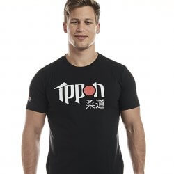 IPPON GEAR T-SHIRT NERA