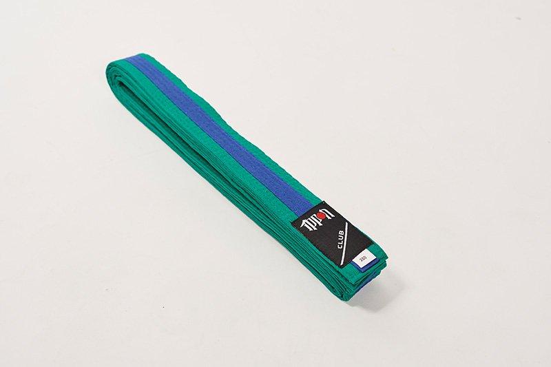 Cintura bi-colore Verde/Blu