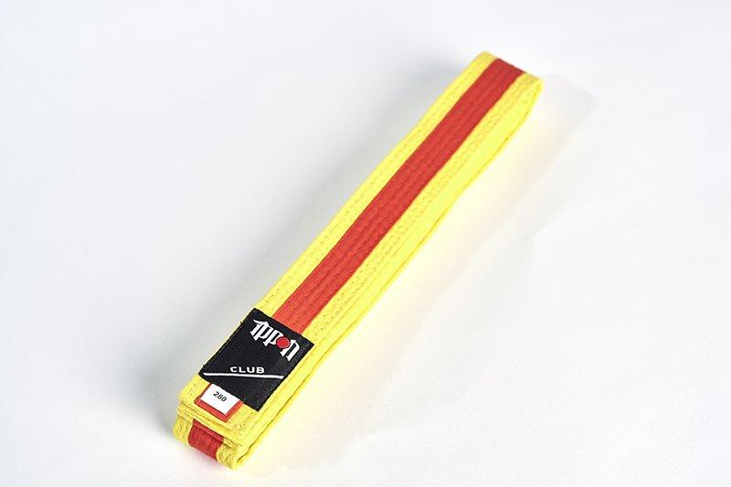 Cintura bi-colore Gialla/Arancio