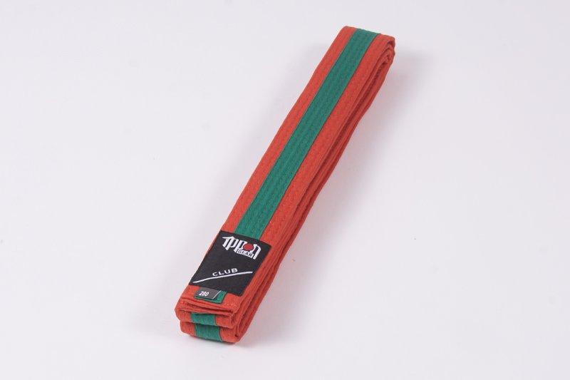 Cintura bi-colore Arancio/Verde