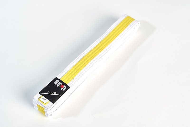 Cintura bi-colore Bianco/Gialla